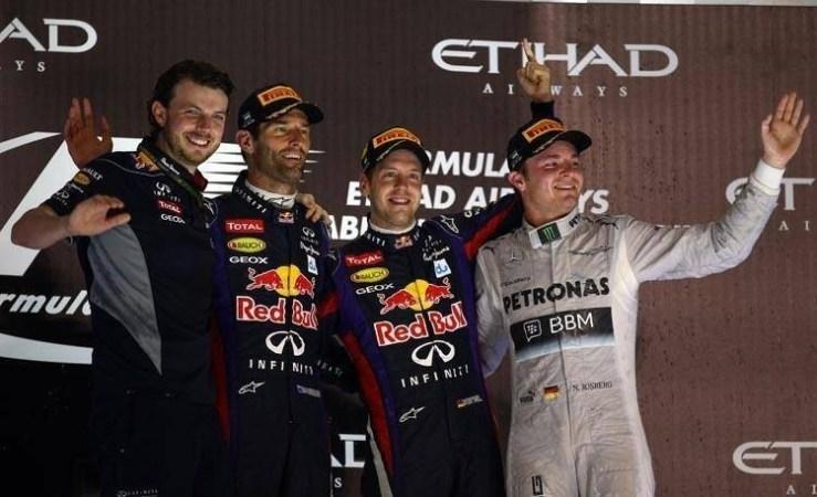 2013 Abu Dhabi Podium