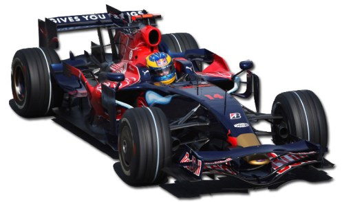 The last customer car in F1 - the Toro Rosso STR3