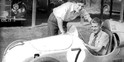 Stirling Moss & Peter Collins - Cooper Mk III - circa 1950