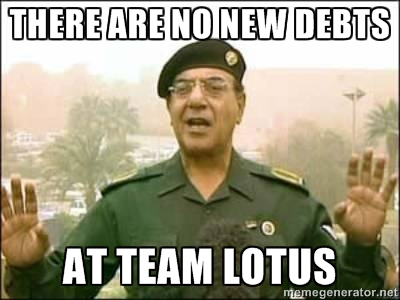 Team Lotus' new spokesman eases worries of fans over their team's stability