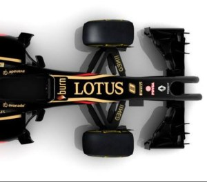 Lotus E22 Top View