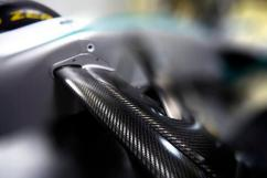 Mercedes W05 Front Suspension