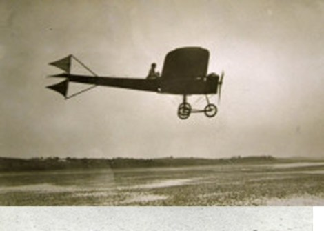 Ferguson Flying his Monoplane