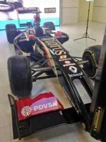 Lotus E22 Front View