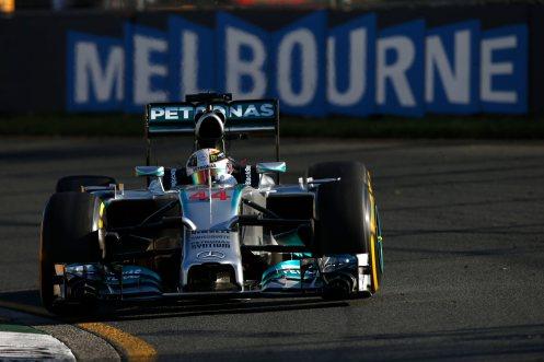 2014 Australian Pole - Lewis Hamilton