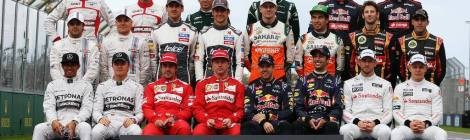 2014 Drivers - Melbourne