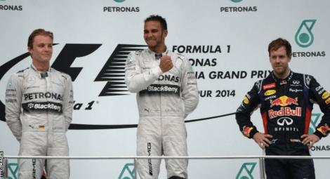 2014 Malaysian Grand Prix Podium 2