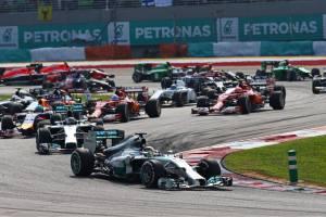 2014 Malaysian Grand Prix Start