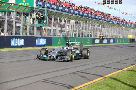 2014 Rolex Australian Grand Prix Winner - Nico Rosberg
