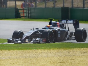 Esteban Gutierrez Sauber F1 Team