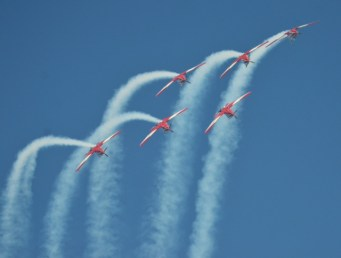 Aerobatics Display Australian Grand Prix Friday March 14th 2014