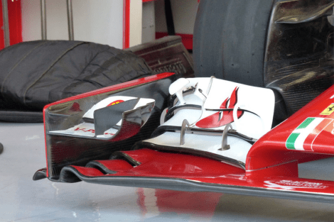 Picture 10 - Ferrari F14-T front wing detail