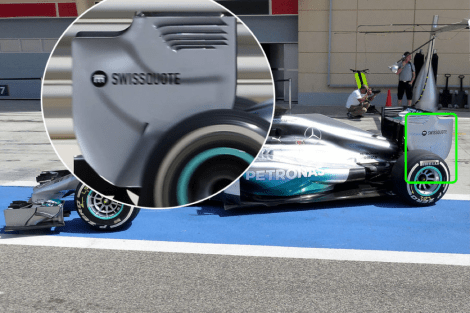 Picturea 3 - Mercedes W05 Rear wing end plate comparison