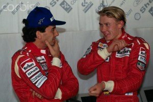 Formula One - Ayrton Senna and Mika Hakkinen