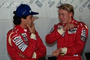Formula One - Ayrton Senna and Mika Hakkinen