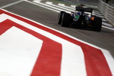 2014 Bahrain Grand Prix - Force India