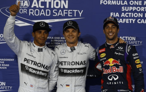 2014 Bahrain Grand Prix Qualifying