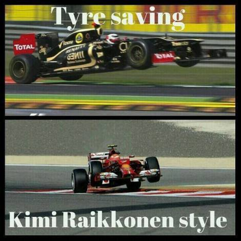 It all makes so much sense now... Credit to 'Going on prime tyres in Q1 with Marussia' Facebook page