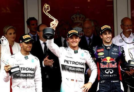 Monaco 2014 Podium