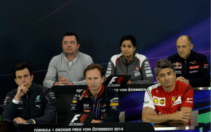 2014 Austrian GP TP Press Conference