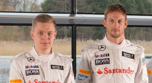 K Magnussen & J Button