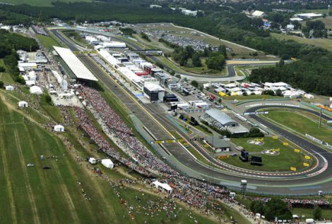 Hungaroring - View from Sky