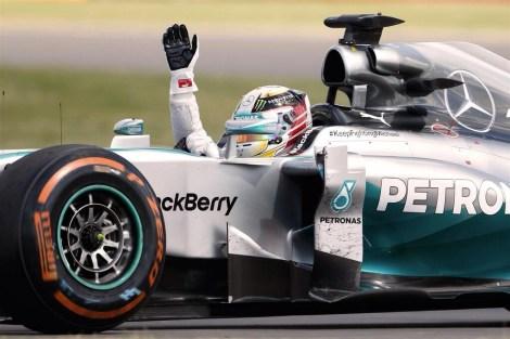 Lewis Hamilton - 2014 British Grand Prix Winner