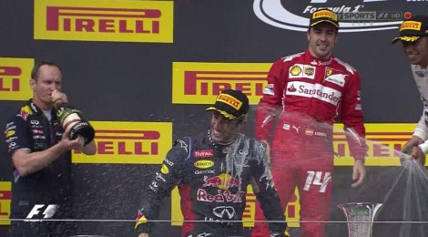 2014 HungarianGP Podium 2