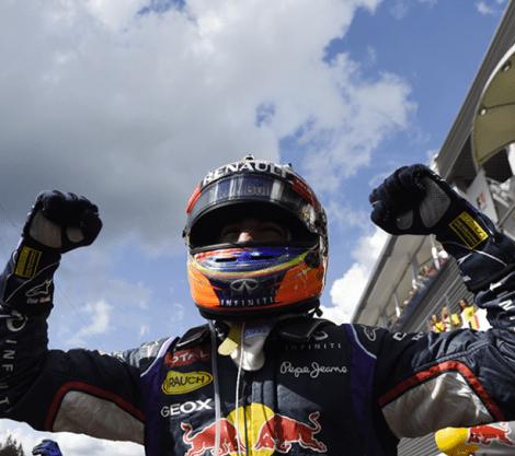 Daniel Ricciardo - Winner 2014 BelgianGP