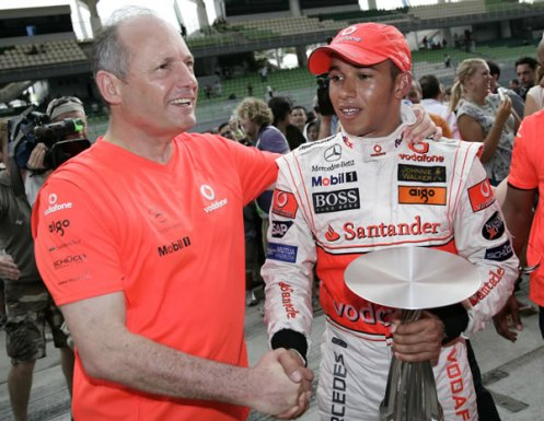 The guiding hand of McLaren and Ron Dennis