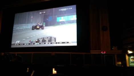 Cinema Big Screen - SingaporeGP