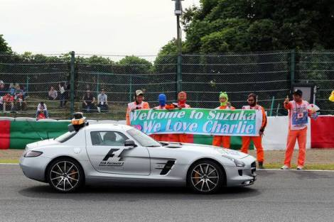 2014 JapaneseGP - Safety Car
