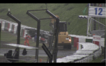 FOM Camera 11 visible in left hand corner facing towards the track
