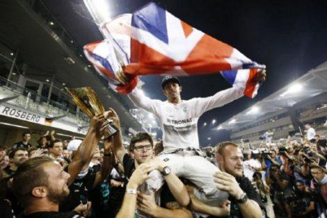 Lewis-Hamilton WDC celebration