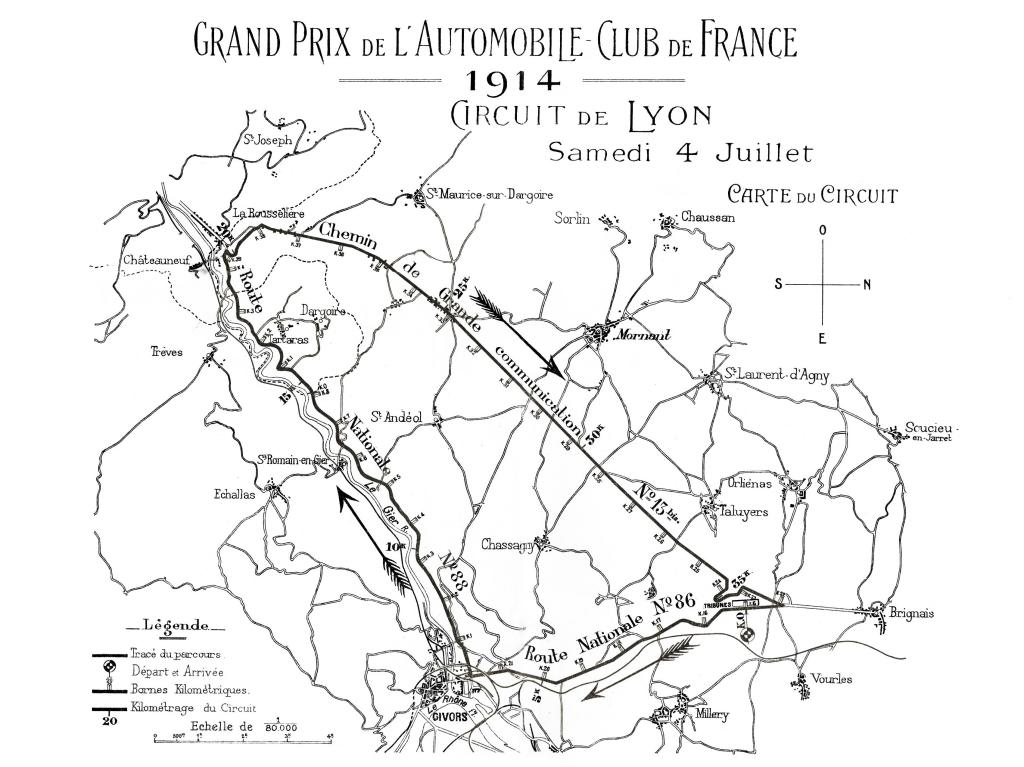 F1 History Part 3 1914 French Grand Prix The Race