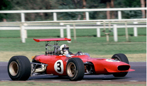 Chris Amon winning the Series in 1969