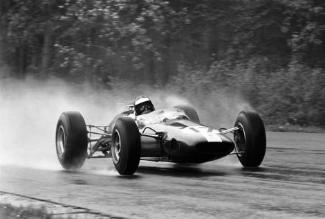 Belgian GP, Spa, 13 June 1965 Winner Jim Clark, Lotus 33