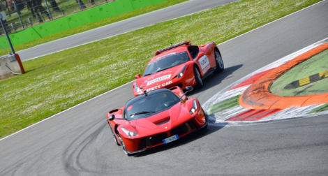 LaFerrari on track