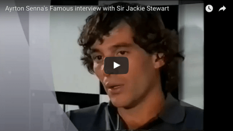 senna interviewed by jackie stewart