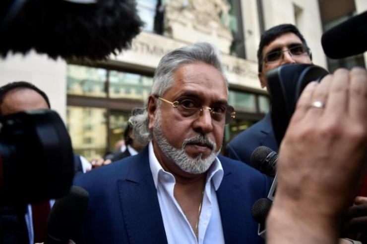 Force India co-owner, Vijay Mallya, leaves after an extradition hearing at Westminster Magistrates Court, in central London