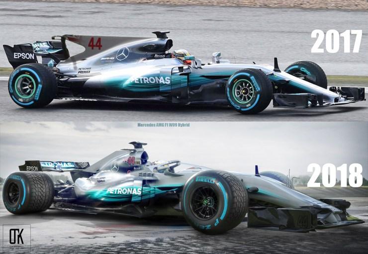 Halo Hamilton S 2018 Car Compared To Last Year Thejudge13