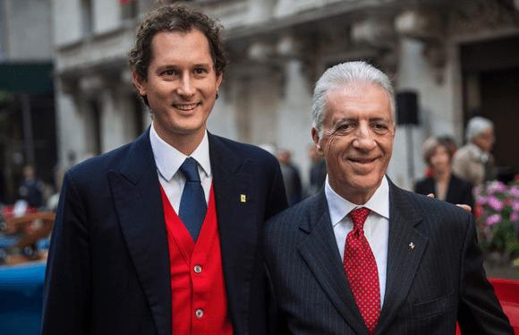 Evidence Hamilton To Ferrari President Meets Lewis Binotto Wolff Enzo S Son Thejudge13thejudge13
