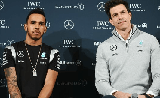 Wolff uses Hamilton to accuse Red Bull of cheating?