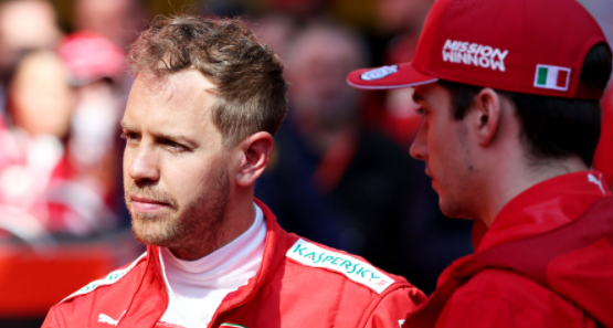 Vettel's admissions about his Ferrari last weekend