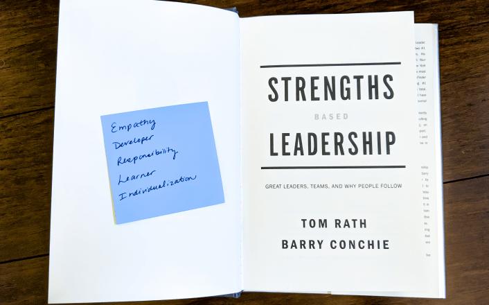 Strengths Based Leadership book