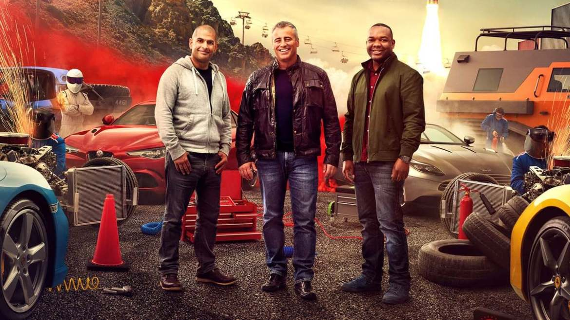 TOP GEAR MUST ESCAPE BLOKEY BANTER TO SURVIVE