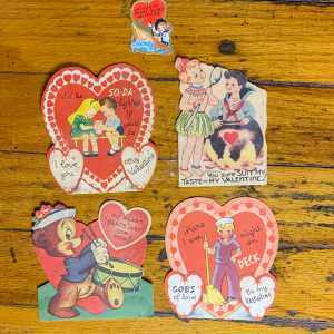 Vintage Valentine Bundle - Sailors