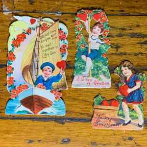 Vintage Valentine Bundle - Heart Picking