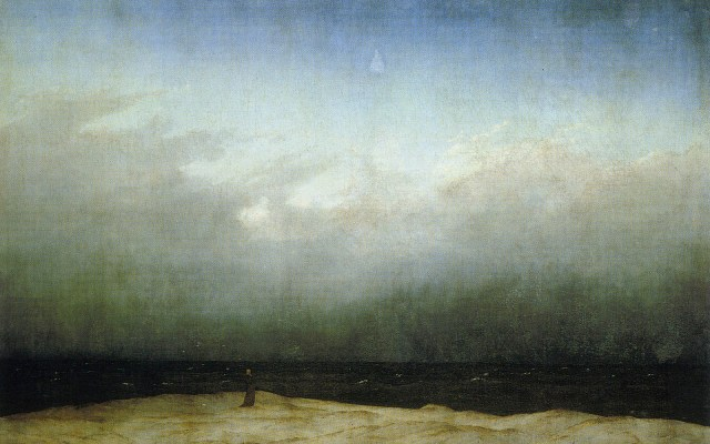 Friedrich Monk By The Sea