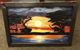 An African Sunset Robert Ryals